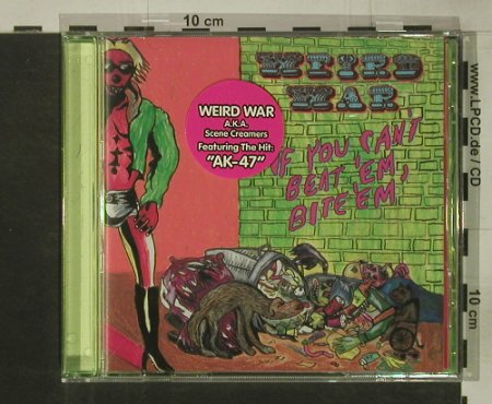 Weird War: If You Can'T Beat 'Em,Bite'Em', Drag City(), US, co, 2004 - CD - 66320 - 10,00 Euro