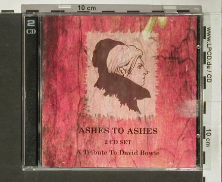 V.A.Ashes to Ashes: A Tribute to David Bowie, Doppelganger(DOP53), UK, 1998 - 2CD - 66428 - 10,00 Euro