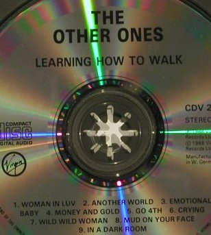 Other Ones: Learning to Walk, Virgin(), D, 88 - CD - 66535 - 4,00 Euro