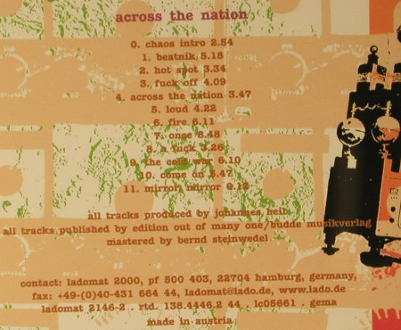 State Of Chaos: Across The Nation, Ladomat(), A, 2003 - CD - 66647 - 10,00 Euro