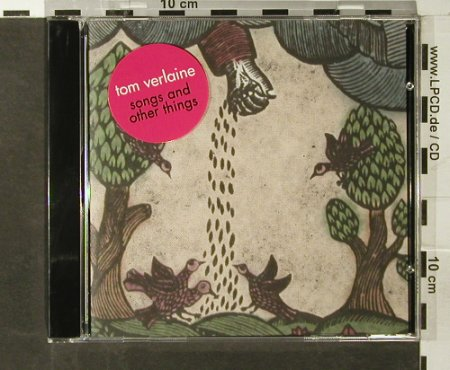 Verlaine,Tom: Songs And Other Things, Thrill Jockey(), CDN, 2006 - CD - 66713 - 10,00 Euro