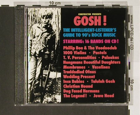 V.A.Gosh!: 16 Bands On CD, Constrict.(), D,  - CD - 66946 - 7,50 Euro