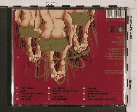 Totally Sunburned: Rock'nRoll Assbomb, Meuterei(), , 04 - CD - 67391 - 10,00 Euro