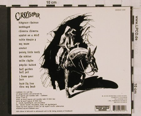 Crossover: Cryptic and Dire Sallow Faced Hood, International DJ Gigolo(), , Digi, 2005 - CD - 67463 - 10,00 Euro