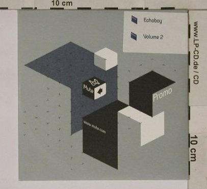 Echoboy: Volume 2, 9Tr.PromoDigi, Mute(), UK, 00 - CD - 67721 - 4,00 Euro