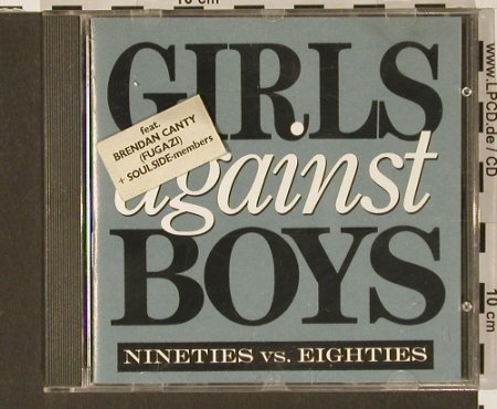 Girls Against Boys: Nineties vs. Eighties, AdultSwim(SCR-034), F, 90 - CD - 67827 - 10,00 Euro