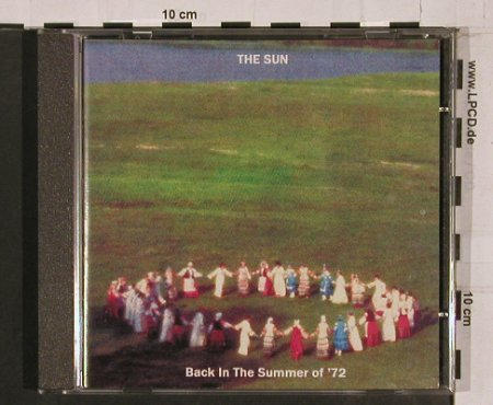 Sun: Back in the Summer of 72, 3Tr., RTD(), UK, 2003 - CD5inch - 67954 - 4,00 Euro