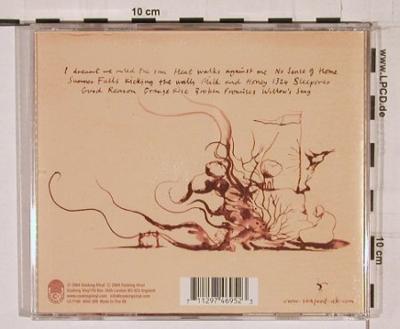 Seafood: As the Cry Flows, CookVinyl(), UK, 04 - CD - 68068 - 10,00 Euro