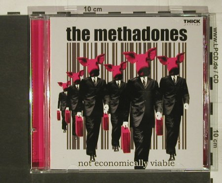 Methadones, the: Not Economically Viable, co,co, Thick Rec.(thk-103), ,  - CD - 68581 - 5,00 Euro