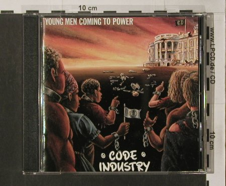 Code Industry: Young Men Coming To Power, vg+/m-, Antler Subway Records(AS 5073), , 1992 - CD - 68757 - 7,50 Euro