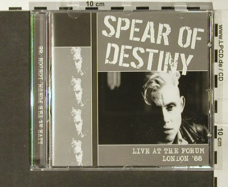 Spear of Destiny: Live at the Forum London '88,Disc 2, Easterstone(), UK, 2006 - CD - 68842 - 7,50 Euro