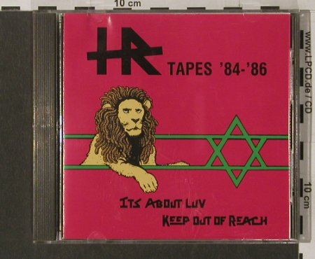 H.R.: Tapes'84-86,It's About Luv..'84...., SST(171), m-/vg+, 1988 - CD - 69033 - 10,00 Euro