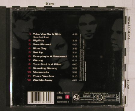 Die Happy: The Weight of the Circumstances, BMG(), EU, 2003 - CD - 69154 - 10,00 Euro