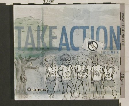 V.A.Take Action!: Vol.8, Digi, Hopeless/SubCity(SC039-2), , 2009 - CD/DVD - 80017 - 7,50 Euro
