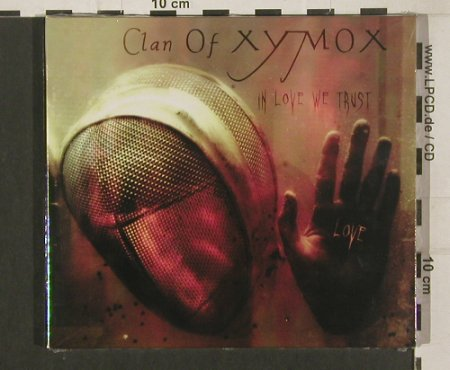 Clan Of Xymox: In Love we Trust, Digi, FS-New, Trisol(TRI 366 cd), EU.Lim.Ed, 2009 - CD - 80045 - 11,50 Euro