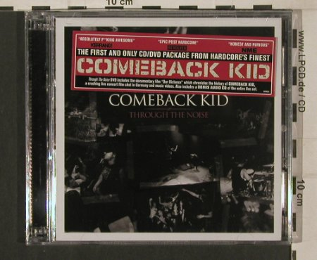 Comeback Kid: Through the Noise, FS-New, Victory(VR435), , 2008 - CD/DVD - 80121 - 10,00 Euro