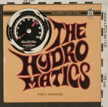 Hydromantics: Parts Unknown, Promo, Digi, White Jazz Rec.(), S, 1999 - CD - 80272 - 10,00 Euro