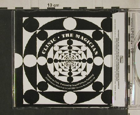Clinic: The Magician,Promo,1Tr., Domino(RUG179CDP), , 2004 - CD5inch - 80528 - 2,50 Euro