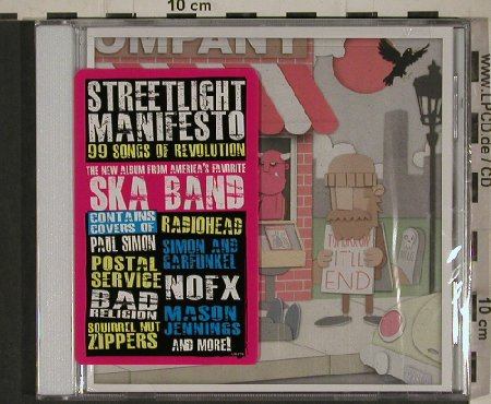 Streetlight Manifesto: 99 Songs of a Revolution, FS-New, Victory(VR), US, 2010 - CD - 80693 - 7,50 Euro