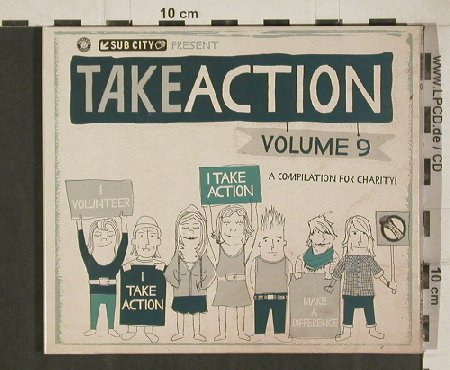 V.A.Take Action Volume  9: PSA..Jump at Shadow, Digi, Subcity Rec.(SC040-2), US, 2010 - 2CD - 80970 - 7,50 Euro