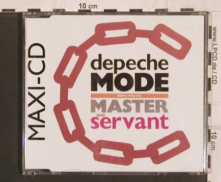 Depeche Mode: Master and servant x3/Set Me Free, Mute CD Bong 6(INT 826.824), D, 1988 - CD5inch - 82080 - 4,00 Euro