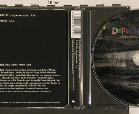 Depeche Mode: John the Revelator/Lilian, Venusnote,Bong 38(094636687124), EU, 2006 - CD5inch - 82093 - 6,00 Euro