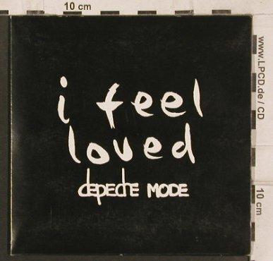 Depeche Mode: I Feel Loved*3, Digi, Venusnote Bong 31(724389780123), EU, 2001 - CD5inch - 82094 - 4,00 Euro