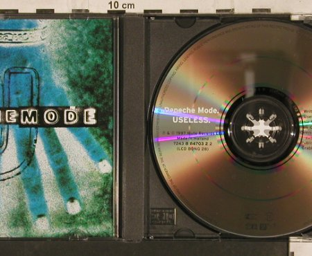 Depeche Mode: Useless *3, Mute, Bong 28(724388470322), NL, 1997 - CD5inch - 82095 - 4,00 Euro