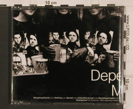 Depeche Mode: Everything Counts*3+4, Mute Bong 16(INT 826.994), D, 1992 - CD5inch - 82103 - 5,00 Euro