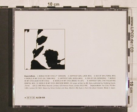 Depeche Mode: World In My Eyes*5+5, Mute/Alfa(90*11*28)(ALCB-159), J, 1990 - CD5inch - 82107 - 10,00 Euro