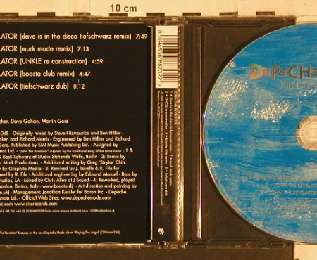 Depeche Mode: John the Revelator*5, Venusnote Bong 38(094636687322), EU, 2006 - CD5inch - 82110 - 4,00 Euro