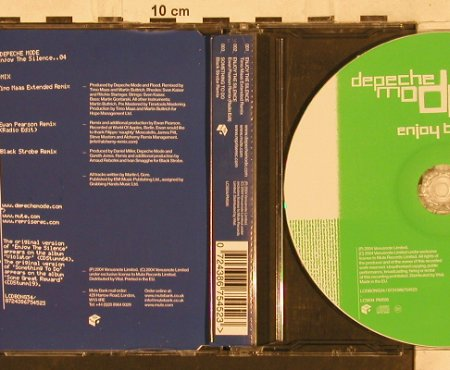Depeche Mode: Enjoy The Silence*2+1, Venusnote LCD Bong 34(724386754523), EU, 2004 - CD5inch - 82128 - 5,00 Euro