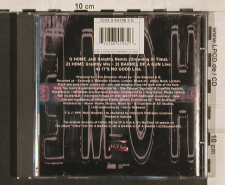 Depeche Mode: Home*2(mix+remix)+2(live), Mute(8 84198 2), NL, 1997 - CD5inch - 82146 - 6,00 Euro