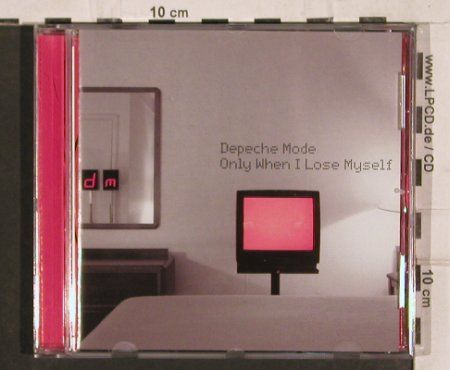 Depeche Mode: Only when I lose myself*2+1, Mute LCD Bong(724388604123), NL, 1998 - CD5inch - 82148 - 4,00 Euro