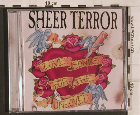 Sheer Terror: Love Songs For The Unlove,14Tr., JTTP(#25), UK, FS-New, 2004 - CD - 82162 - 15,00 Euro
