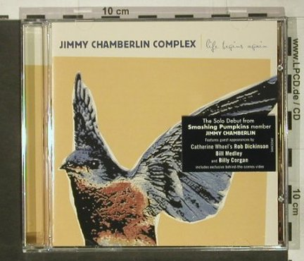 Chamberlin Complex,Jimmy: Life Begins Again(SmashingPumpkins), Sanctuary(), EU, 2004 - CD - 82229 - 7,50 Euro