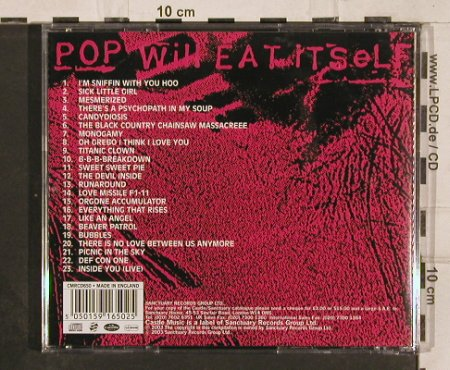Pop Will Eat Itself: Now For A Feast, Sanctuary(), UK, 2003 - CD - 82300 - 7,50 Euro