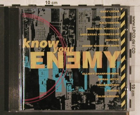 V.A.Know Your Enemy: 12 Tr., Enemy(), D,  - CD - 82799 - 5,00 Euro