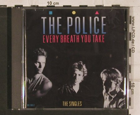 Police: Every Breath You Take-The Singles, AM(393 902-2), UK, 1986 - CD - 82849 - 7,50 Euro