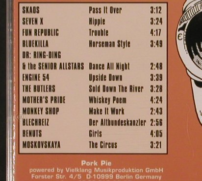 V.A.Skandal ! No.4: 12 Ska Bands fr. Germany, Pork Pie(), D, 1996 - CD - 83498 - 7,50 Euro