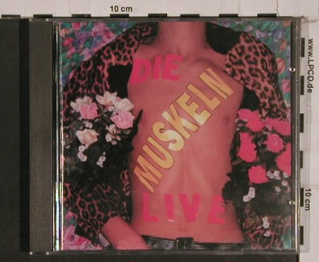 Muskeln,Die: Live, vg+/m-, We Bite(WB085CD), D,  - CD - 84398 - 11,50 Euro