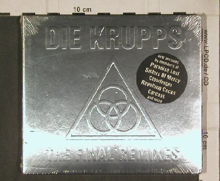 Krupps: The Final Remixes, Digi, FS-New, Our Choice(), D, 94 - CD - 90095 - 12,50 Euro