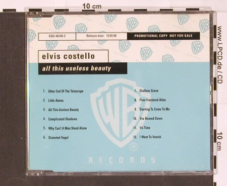 Costello,Elvis: All This Useless Beauty,12Tr..Promo, WB(), D, 96 - CD - 90103 - 10,00 Euro