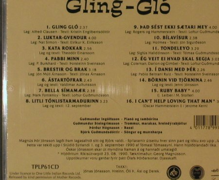 Gling-Glo (Björk): Same, One Little Indian(TPLP61CD), , 90 - CD - 90115 - 12,50 Euro