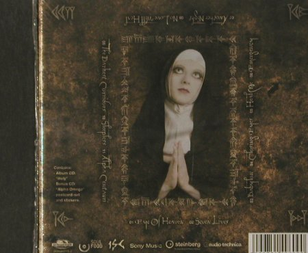 "In Strict Confidence: Holy, DigiBox, FS-New, Minuswelt(010.2), EU, 2004 - CD+5"" - 90337 - 12,50 Euro"