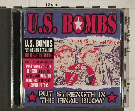 U.S.Bombs: Put Strength i.t.Final Blow, FS-NEW, Disaster(9019), US, 03 - CD - 90507 - 10,00 Euro