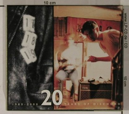 V.A.Twenty Years of Dischord: 73 Songs/1980-2000 Years of,Box, Dischord(DIS125), US, 02 - 3CD - 90566 - 20,00 Euro