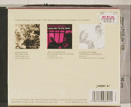 "Belle & Sebastian: Lazy Line Painter Jane, Box, Jeepster(), UK, 97 - CD5""*3 - 90729 - 10,00 Euro"