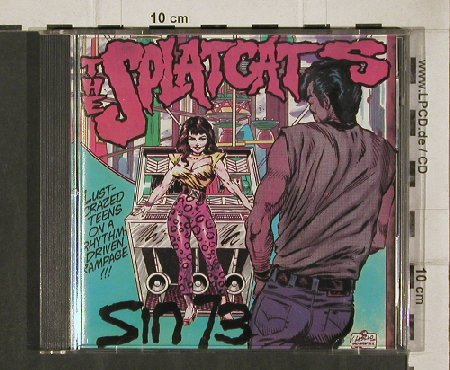 Splatcats: Sin 73, MovingTar.(MTcd  007), , 1986 - CD - 90801 - 11,50 Euro