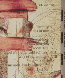 In Strict Confidence: Face The Fear, Digi, FS-New, ZothOmmog(zot 204), D, 1998 - CD - 90977 - 12,50 Euro